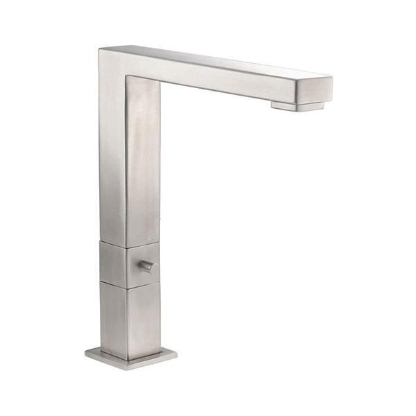 Rangemaster Quardant Monostem 2 Brushed Stainless Steel Tap